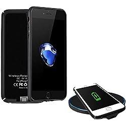 XLTOK Récepteur de sans Fil Coque Compatible avec iPhone 7/6 /6S (4.7 Pouce)