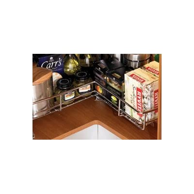 Corner carousel 3/4 Carousel set kitchen cuboard storage system 800mm by Kitchen Storage Solutions Sorted