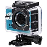 Sky Blue : Kolylong Mini H9 2inch Ultra HD 1080p 4K Sport 170° Wide WiFi Action Camera DV