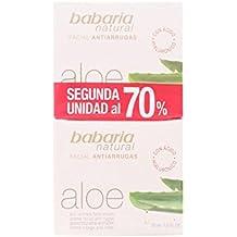 Babaria Aloe Vera Antiarrugas Set de 2 Cremas Anti-Arrugas Faciales - 100 ml