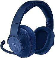 Logitech G433 7.1 Surround Gaming Headset, DTS Headphone:X 3D Positional Audio, 40 mm Pro-G Audio Drivers, Lig