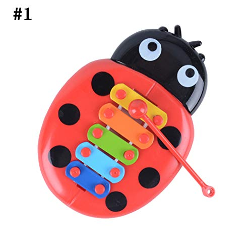Joyibay Musikinstrument Set Insekt Form Instrument Spielzeug Musikalisches Spielzeug Für Kinder Kleinkind