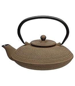 Théière Doty 80cl Coul: Taupe Thé Tisane - infusion - peut s'utiliser avec du thé vert, thé blanc, thé noir, Rooibos, les infusions fruitées, les mélanges de Maté, les infusions épicéés Chai