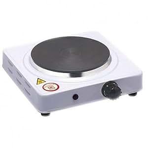 Mini fornello elettrico 500w regolabile piastra in ghisa for Fornello campeggio elettrico
