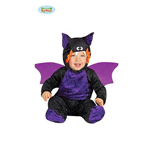 6 - 12 Monate, 82 - 83 cm - Halloweenkostüm Kleinkind Monsterchen Verkleidung Fledermauskostüm Kinder kleines Monster Kostüm Fledermaus Babykostüm (Baby Fledermaus Kostüme Kleinkinder)