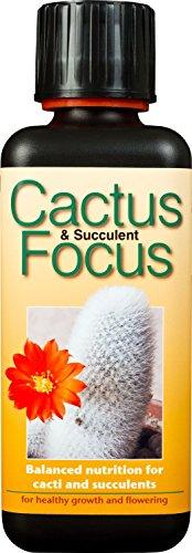 Focus-Fertilizzante liquido concentrato per Cactus e piante succulente, 100 ml, GUM (Serra Liquid)