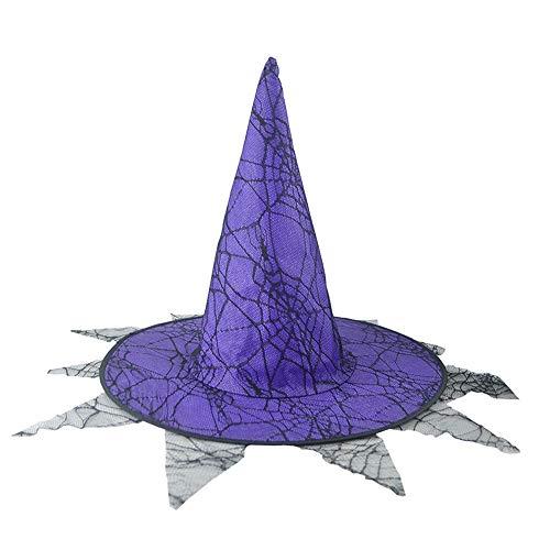 Dummy Puppe Kostüm - GOKOMO Halloween Hexe Hut Hexe Kostüm Zubehör für Halloween Weihnachtsfeier kostüm Damen hexenhut Damen schwarz