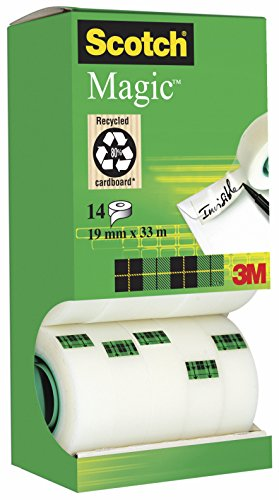scotch-magic-tape-cinta-adhesiva-transparente-14-rollos-19-mm-x-33-m-transparente