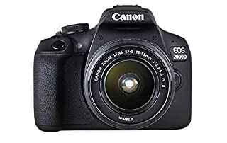 Canon EOS 2000D 18-55 IS SEE Fotocamera, Nero (B07FDG71K9) | Amazon price tracker / tracking, Amazon price history charts, Amazon price watches, Amazon price drop alerts