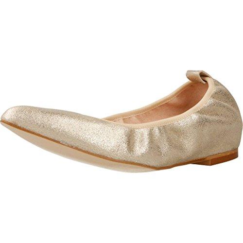 Zapatos Bailarina para Mujer, Color Gold, Marca MIKAELA, segunda mano  Se entrega en toda España