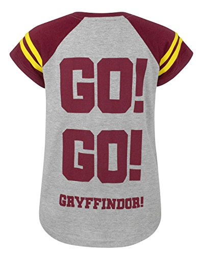 Harry-Potter-Quidditch-Team-Captain-Girls-T-Shirt-9-10-Years