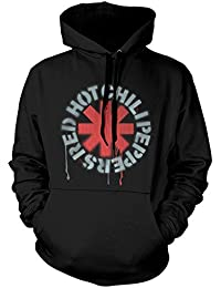 Red Hot Chili Peppers Official Hoody Hoodie Stencil Asterisk f48330f5c6f7