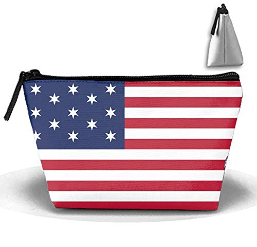 Trapezoidal Capacity Storage Makeup Bag Brandenburg Gate Portable Hand Travel Wash Bag -