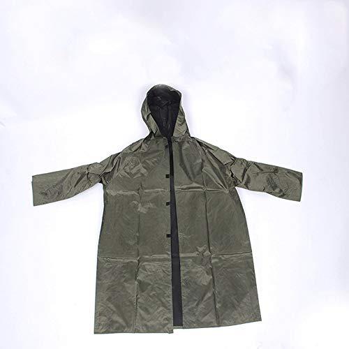 YONGYONG Einteiliger Regenmantel, Militärischer Regenmantel, Regenmantel, Arbeitsschutz, Regenmantel, Wanderponcho (größe : XXXL)