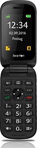 Image of Beafon S480_EU001B Mobiltelefon (Innendisplay 240 x 320 Pixel, 4,49 cm (1,77 Zoll) Aussendisplay 128 x 320 Pixel, VGA Kamera, SOS-Notruftaste), 6,09 cm (2,4 Zoll)) schwarz