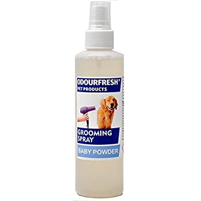 Odourfresh Baby Powder Dog Spray - Professional Grooming Spray & Pet Cologne 180ml from Odourfresh