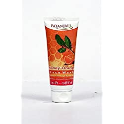 Patanajli Orange Honey Face Wash, 60g