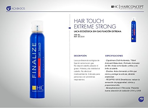 HAIRCONCEPT FINALIZE Hair touch extreme strong