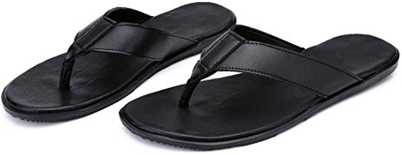 Jiuyue-scarpe, Infradito da uomo Infradito Scarpe Pantofole da spiaggia in pelle PU Sandali senza lacci antiscivolo... | Negozio  | Uomini/Donna Scarpa