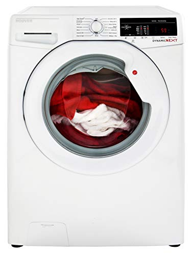 Hoover DXOA69LW3 Freestanding Washing Machine, NFC Connected, 9Kg Load, 1600rpm Spin, White