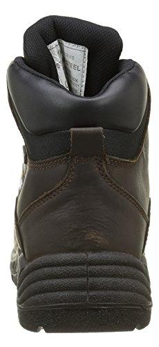 Sterling Safetywear, Herren wasserdichte Sicherheitsstiefel Braun (Braun)