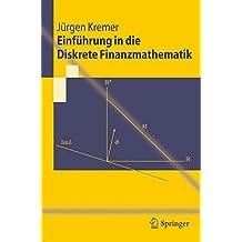 Einführung in die Diskrete Finanzmathematik (Springer-Lehrbuch)