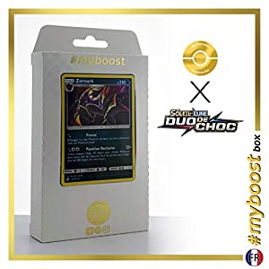 Zoroark 91/181 Holo - #myboost X Soleil & Lune 9 Duo de Choc - Box de 10 Cartas Pokémon Francés