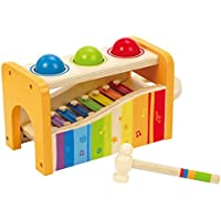 Hape Early Melodies E0305 Pound And Tap Bench