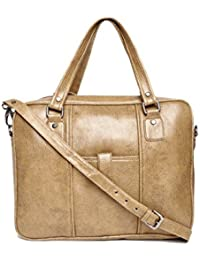 Gauge Machine Tan/Brown Laptop Bag