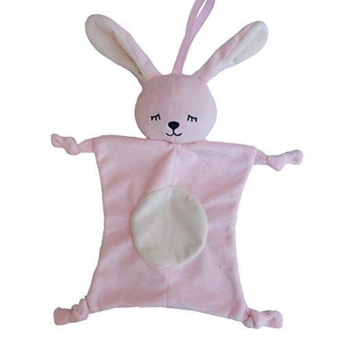 YeahiBaby Copertina Neonati di Peluche Baby Comforter (Coniglio)