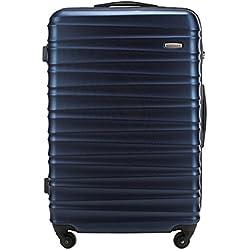 WITTCHEN Grande Maleta | Color: Azul | Material: ABS | Dimensiones: 77 x 52 x 29 cm | Peso: 4.1 kg | Capacidad: 96 L | Colección: GROOVE Line | 56-3A-313-90