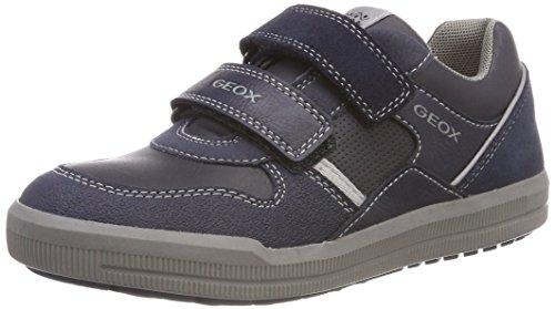 Geox J Arzach Boy C, Zapatillas Niños, Navy/Grey
