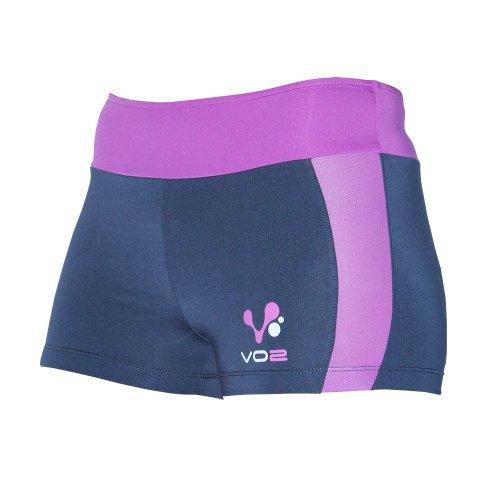 VO2, Sport, pantalon de yoga Mehrfarbig - blau / violett