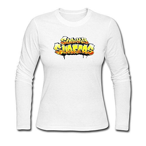 Logo Juego Subway Surfers camiseta para mujer