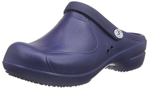 Sanita Damen Aero-Stride Clogs Blau (Navy 29)