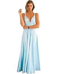 6f8bf21ae0a0 Amazon.it  abito azzurro - 38   Donna  Abbigliamento