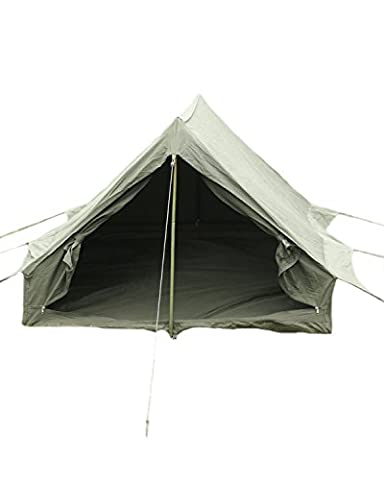 French Army F1 Olive Drab Nylon 2 Men Tent With Groundsheet Pegs & Poles
