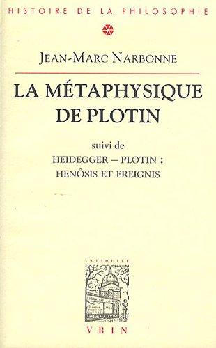 La Metaphysique de Plotin