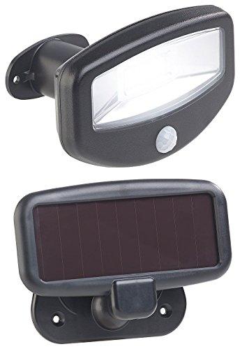 Lunartec Licht ohne Strom: Solar-LED-Strahler, PIR-Bewegungssensor, 16 LEDs, 100 lm, 1,2 W, IP44 (Außenleuchte mit Bewegungsmelder)