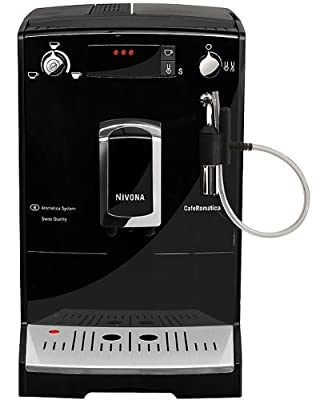 Nivona CafeRomantica 646 Bean to Cup Coffee Machine, 2.2 Litre, 1455 W, 15 Bar, Black