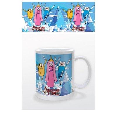 Adventure-Time-Becher-aus-Keramik-mit-Prinzessin-Jake-und-Finn