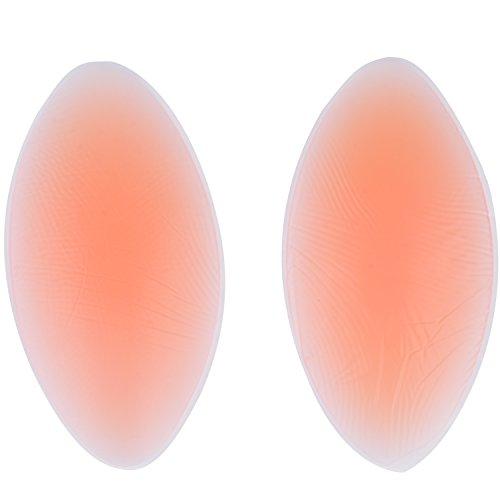 Bh Einlagen, Fascigirl BH Enhancer mit Brustwarzen Abdeckungen Set BH Push up Silikon Brust Einlagen für Frau