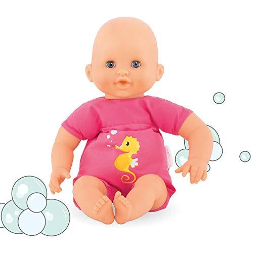 Corolle 9000100200 Mon Petit Poupon Badeplatsch, pink, 30 cm