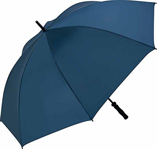 Fare - Parapluie golf 130 cm - fibre de verre - 2235 - coloris BLEU MARINE - WINDPROOF - grande taille