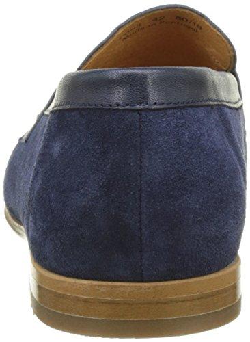 Pellet Herren Colibri Slipper Bleu (Velours / Box Marine)