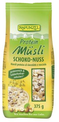 Rapunzel Bio Protein-Müsli Schoko-Nuss, 2er Pack (2 x 375 g) - BIO