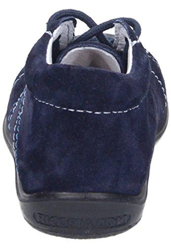 Ricosta Baby Maedchen Schnuerschuhe, Stiefel blau, 460815-5 blau