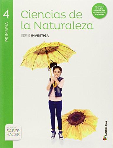 Ciencias de la naturaleza + mi primer taller de ciencias, primaria 4