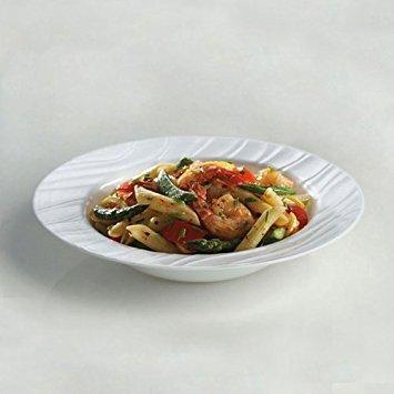 CORELLE Boutique Swept 28-oz Wide-Rimmed Soup / Cereal Bowl by CORELLE Rimmed Soup Bowl