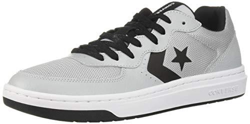 Converse Herren Rival Sneaker Low Top, Grau (Wolf Grey/Black/White), 43 EU M